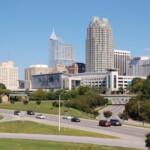 Skyline of Raleigh North Carolina