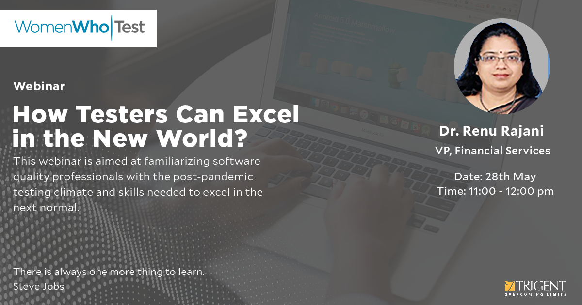 How Testing Professionals Can Excel in the New World
